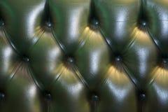Parte posterior del sofá de Chesterfield Imagenes de archivo