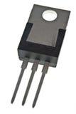 Parte posterior del transistor de potencia fotos de archivo