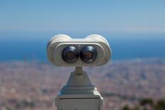Parte posteriore binoculare a gettoni Fotografie Stock Libere da Diritti