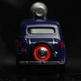 Parte posteriore blu dell'automobile dell'annata Fotografie Stock Libere da Diritti