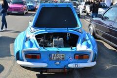 Parte posteriore classica dell'automobile sportiva di Renault Alpine A110 Berlinette Fotografie Stock