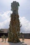 Parte posteriore commemorativa di olocausto Immagini Stock