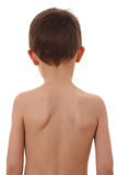 Parte posteriore del bambino fotografia stock