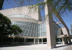 Parte posteriore del centro della scultura di Nasher, Dallas, il Texas Fotografia Stock