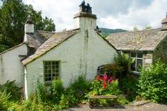 Parte posteriore del cottage della colomba Immagini Stock Libere da Diritti