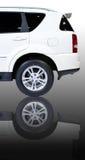 Parte posteriore dell'automobile di SUV Fotografie Stock Libere da Diritti