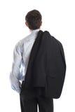 Parte posteriore dell'uomo d'affari Immagini Stock