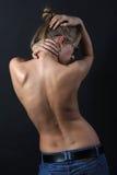 Parte posteriore della femmina Fotografie Stock