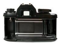 Parte posteriore della macchina fotografica di SLR fotografia stock libera da diritti