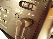 Parte posteriore della videocamera Fotografie Stock