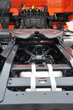 Parte posteriore di Truckâs Immagine Stock