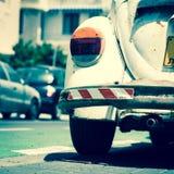 Parte posteriore di vecchia automobile Fotografia Stock Libera da Diritti