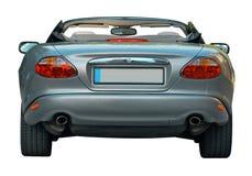 Parte posteriore inglese convertibile dell'automobile Fotografie Stock