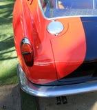 Parte posteriore italiana dell'automobile sportiva degli anni 50 classici Immagini Stock