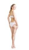 Parte posteriore perfetta femminile del corpo Fotografia Stock Libera da Diritti