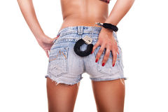 Parte posteriore sexy femminile immagine stock libera da diritti