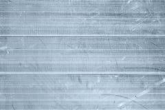 Parte posteriore strutturata di piastra metallica industriale di alluminio graffiata del modello Fotografia Stock