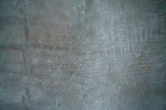 Parte sinistra del nuovo fondo del muro di cemento a fuoco Fotografia Stock