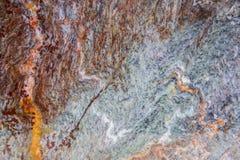 Parte superior contrária de pedra Imagem de Stock
