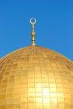 Parte superior da abóbada da rocha, masjid Qubbat Como-Sakhrah Imagens de Stock