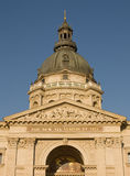 Parte superior da basílica em Budapest Fotografia de Stock