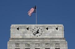 Parte superior da cidade salão de Houston Fotografia de Stock Royalty Free