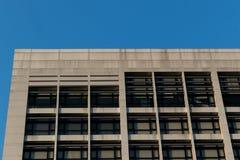 Parte superior da construção branca Fotos de Stock