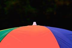 Parte superior da fotografia colorida do fundo do guarda-chuva Fotos de Stock Royalty Free