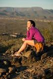 Parte superior da fuga do deserto Foto de Stock Royalty Free