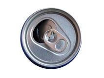 A parte superior da lata para a bebida fotos de stock royalty free