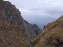 Parte superior da montanha Fotografia de Stock