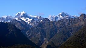 Parte superior da montanha Imagem de Stock Royalty Free