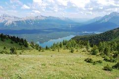 Parte superior da montanha Fotos de Stock Royalty Free