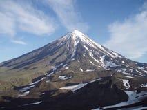 Parte superior da montanha Imagem de Stock