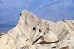 Parte superior da montanha em Death Valley Imagem de Stock Royalty Free