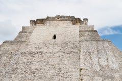 A parte superior da pirâmide do caixa de fortuna, Uxmal, ruínas fotos de stock royalty free