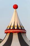Parte superior da tenda do circus foto de stock royalty free