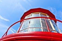 Parte superior da torre do St Augustine Light Fotos de Stock Royalty Free