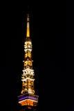 Parte superior da torre do Tóquio Foto de Stock