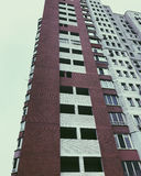 Parte superior de edificio de gran altura del negocio Foto de archivo libre de regalías