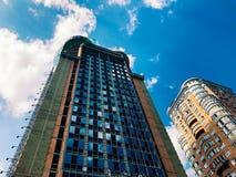 Parte superior de edificio de gran altura del negocio Imagen de archivo
