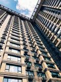 Parte superior de edificio de gran altura del negocio Fotos de archivo