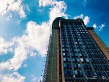 Parte superior de edificio de gran altura del negocio Foto de archivo