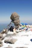 Parte superior de Elbrus Imagens de Stock