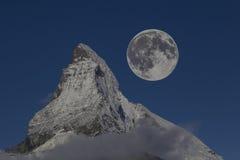 Parte superior de matterhorn Imagens de Stock Royalty Free