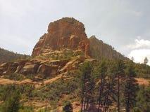 Parte superior de Sedona o Arizona da fuga longa da garganta Fotografia de Stock