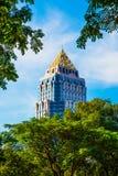 Parte superior de uma construção em Banguecoque Imagem de Stock