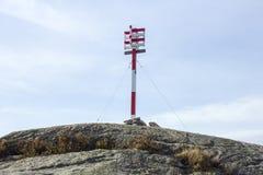 Parte superior de uma montanha Imagem de Stock