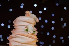 Parte superior do bolo de casamento Imagens de Stock Royalty Free