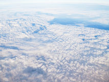 Parte superior do céu imagens de stock royalty free